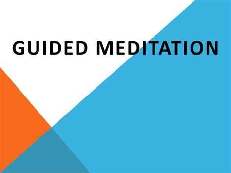 PPT - Timeless Awareness -- A Self-Guided Meditation
