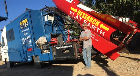Intrepid Flat Earther Reschedules Rocket Launch, Remains