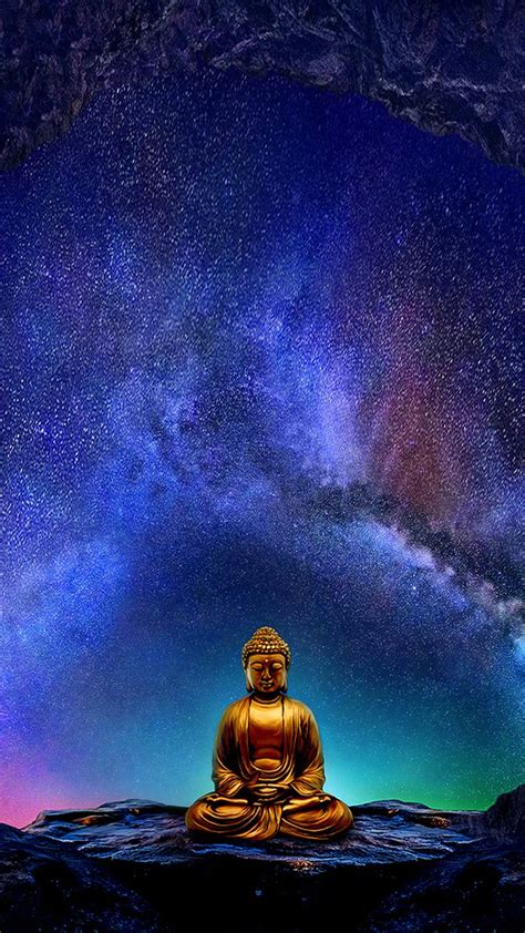 Buddha Wallpaper for Mobile Devices – Artwork by
