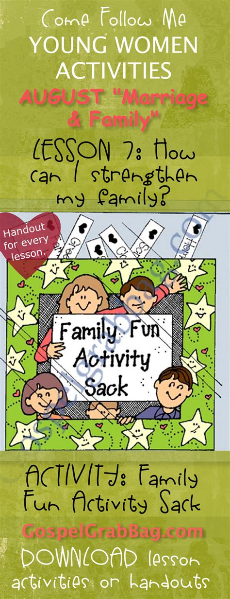 Family Activities: LDS Lesson Activity: Family Fun
