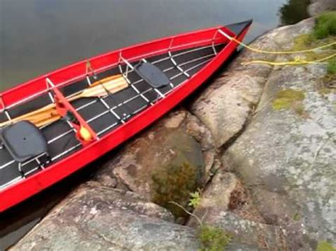 collapsible Canoe ally explorer 18,5 review - YouTube