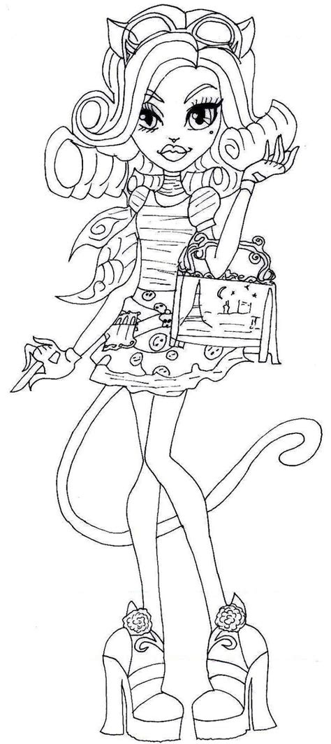 Monster High 13 Wishes Coloring Pages - GetColoringPages