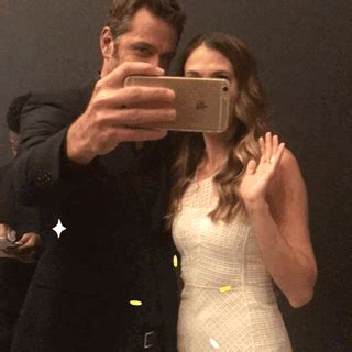 Sutton Foster Selfie GIF by The Paley Center for Media