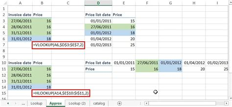 How to use VLOOKUP, HLOOKUP and INDEX MATCH in Excel