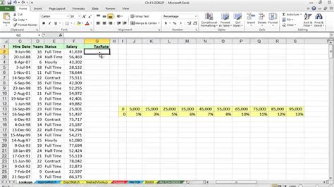 How to Use the HLOOKUP Function in Excel - YouTube