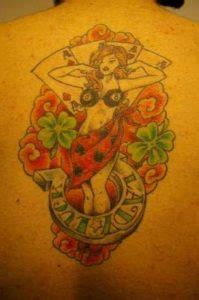 Lady Luck Tattoos Designs, Ideas and Meaning | Tattoos For You