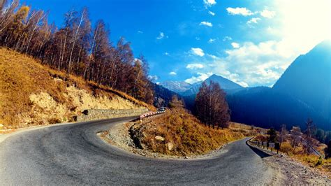 Mountain Hairpin Curve Wallpapers | HD Wallpapers | ID #14149