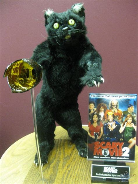 Attack Cat Movie Prop from Scary Movie 2 (2001) @ Online