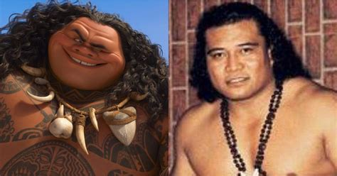 Dwayne Johnson's Moana Character Inspired by His