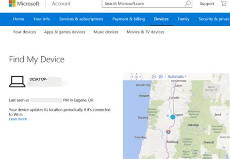 How to track or find your lost Windows 10 Laptop online