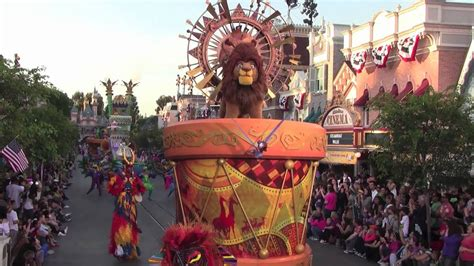 Mickey's Soundsational Parade at Disneyland Park featuring