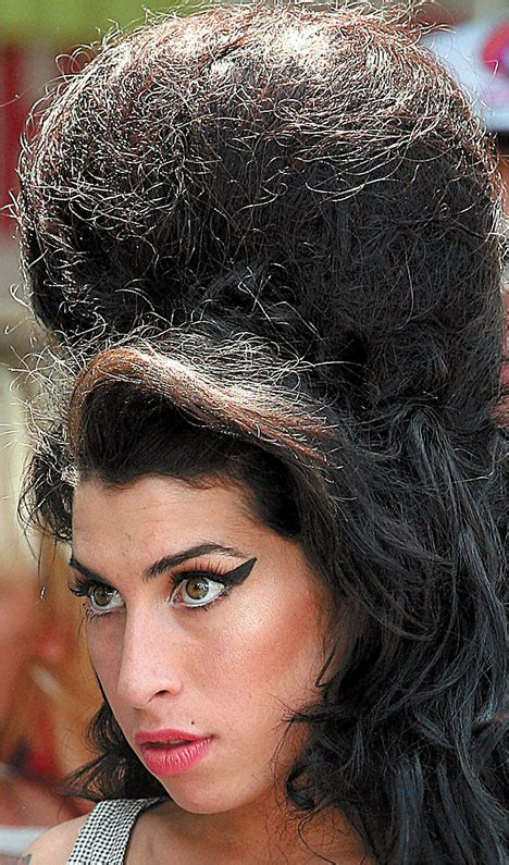 Oh do beehive! Amy shows she's got a head for style