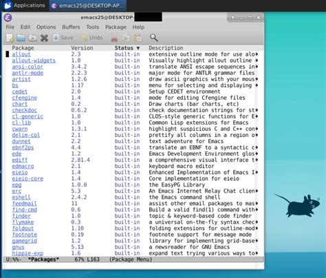 Emacs 25 on Windows Subsystem for Linux | Solarian Programmer