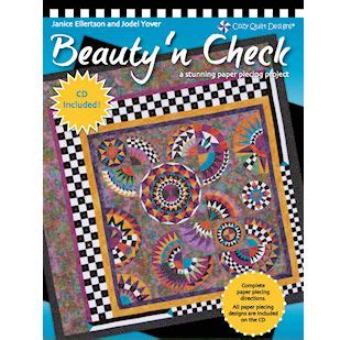 This is my new paper piecing book that just came off the