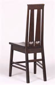 Stickley Brothers Double Heart Cutout Hall Chair c1905