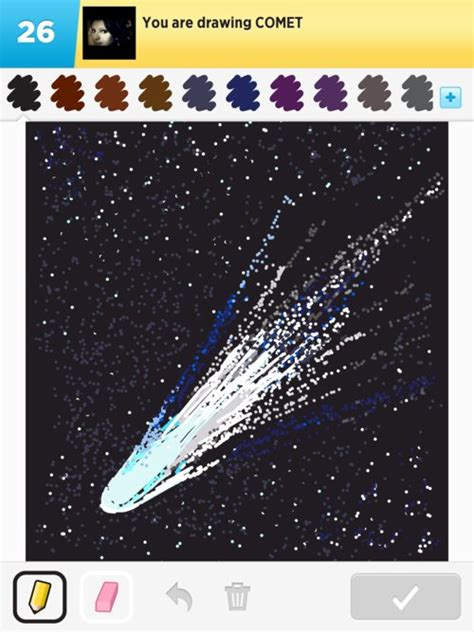 Comet Drawings - How to Draw Comet in Draw Something - The