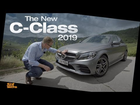2018 Mercedes-Benz C-Class Facelift Shows Interior For The