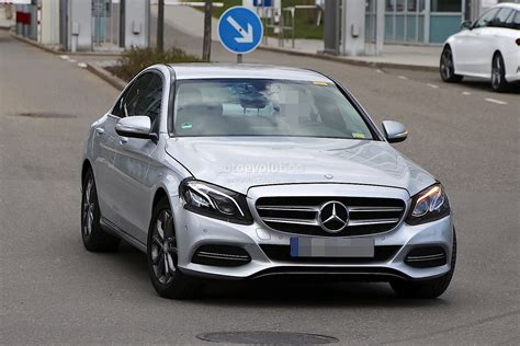2017 Mercedes-Benz C-Class Facelift Spied in Germany
