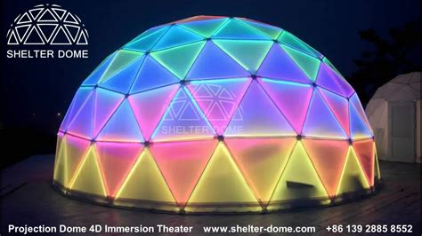 2016 Shelter Structures Glass Wall Metal Frame Dome Tent