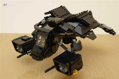 Make Your Own Batman's Tumbler and The Bat with LEGO