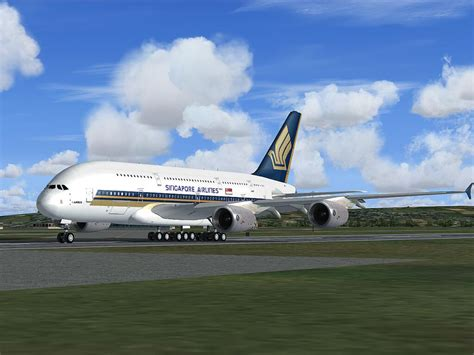 Singapore Airlines Airbus A380 for FSX