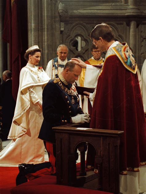 The Consecration of King Harald and Queen Sonja - The