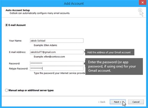Import Gmail to Outlook - Office Support