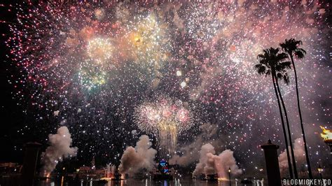 2017 Epcot 4th of July Fireworks - Heartbeat of Freedom