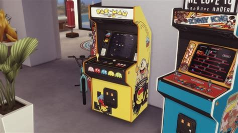 Two arcade cabinets (decorative) by Pumpk1in at Mod The