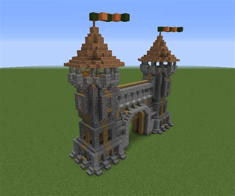 Medieval Gatehouse 2 - GrabCraft - Your number one source