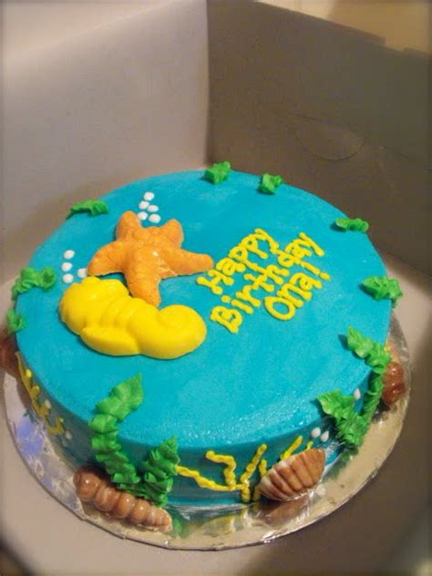 Cakes by Candace: Ocean cake