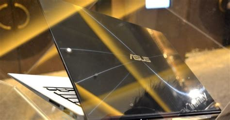 ASUS Zenbook Infinity official with a Gorilla Glass 3 lid