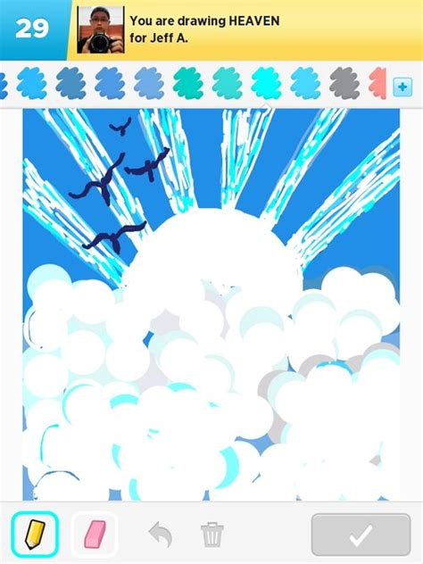 Heaven Drawings - How to Draw Heaven in Draw Something
