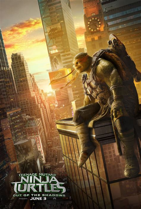 The turtles look over Manhattan with new Teenage Mutant