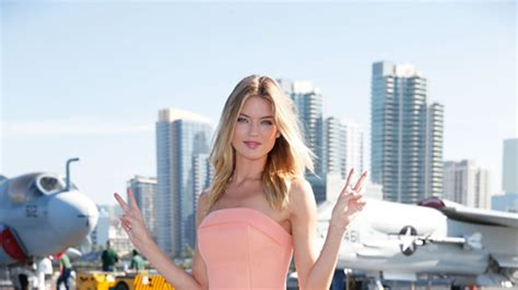 Martha Hunt -- Victoria Secret Angel Check Out My Twin Engines