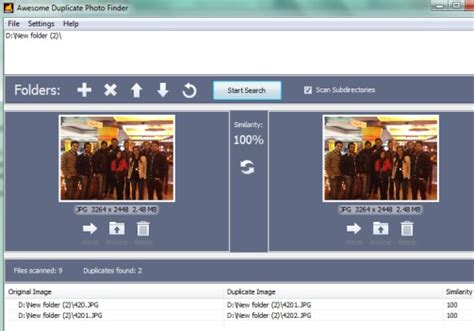 Software For Finding, Removing Duplicate Photos, Similar
