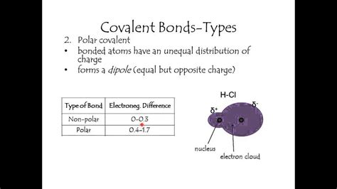 Types of covalent bonds - YouTube