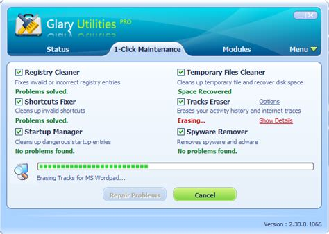 Glary Utilities Pro Screenshots - All-in-one System
