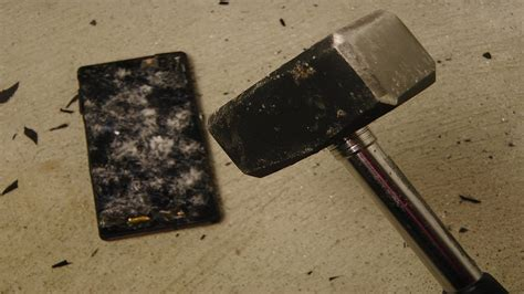 Sony Xperia Z Review - Hammer Drop Test - YouTube