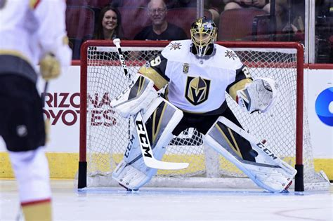 Golden Knights' Marc-Andre Fleury earns NHL's second star