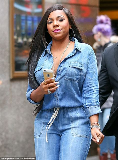 Ashanti talks about her split from rapper Nelly on The