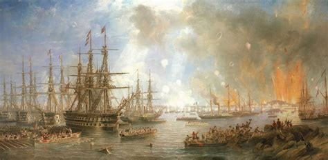 File:The Bombardment of Sveaborg, 9 August 1855 by John