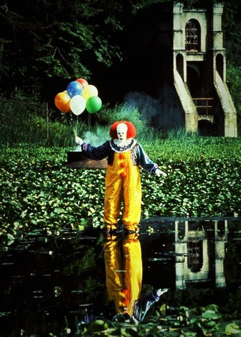 Tim Curry as Pennywise the Clown   FilmmakerIQ