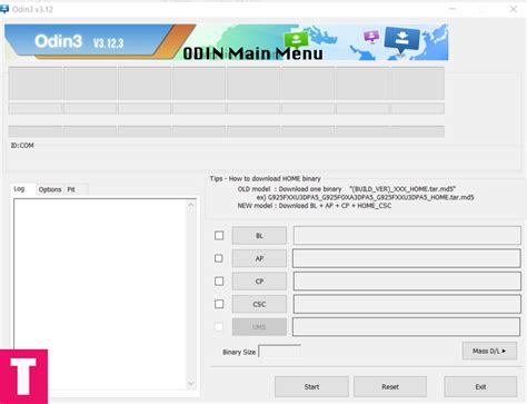 Download Odin Flash Tool for Samsung Galaxy Devices (All