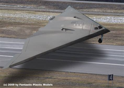 B-3 Stealth Bomber by Fantastic Plastic