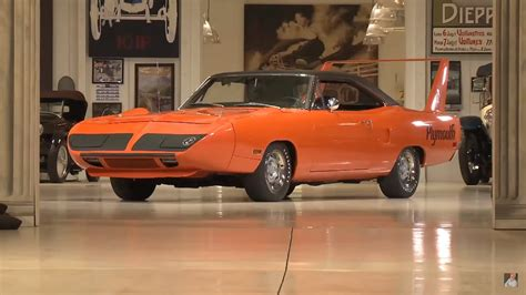 Jay Leno Meets A Plymouth Superbird: Video Pictures