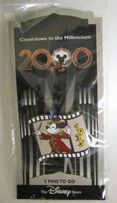 The Band Concert Countdown to Millennium pin from our Pins