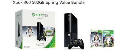 Xbox 360 2015 Spring Value bundles now available starting