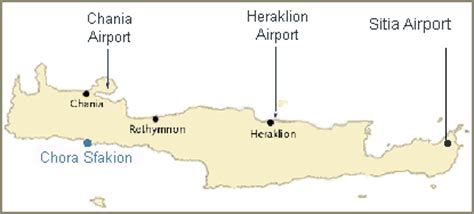 Flights to and from Crete, airports Crete, booking tickets
