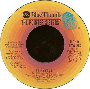 Fairytale (Pointer Sisters song) - Wikipedia